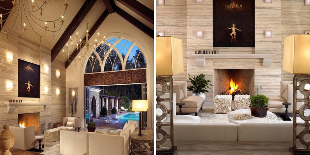 Дом в стиле модерн с восточными мотивами