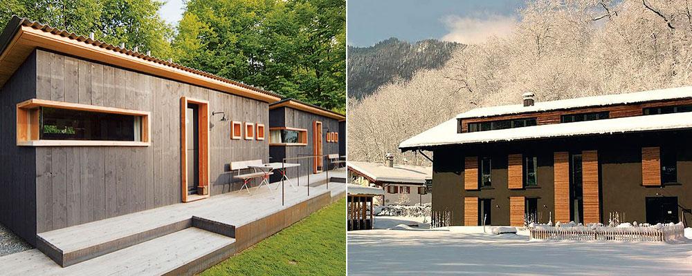 Эксклюзивный интерьер гостиницы в горах
