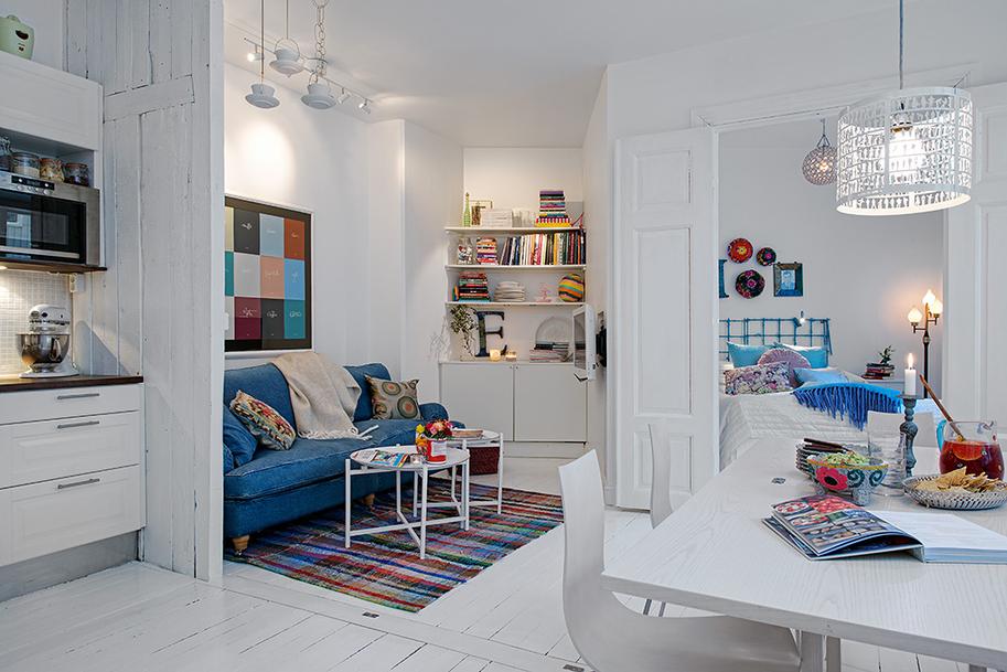 Апартаменты с классическим шведским шармом