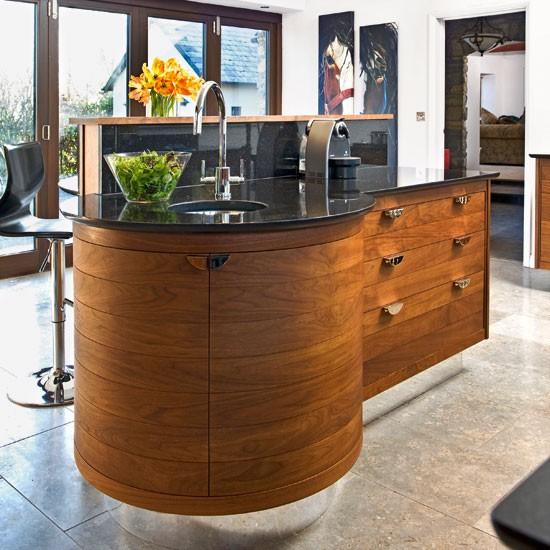 Кухонный островок – стильно и практично